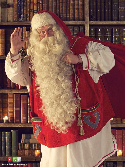 Santa can't wait to deliver the presents!
