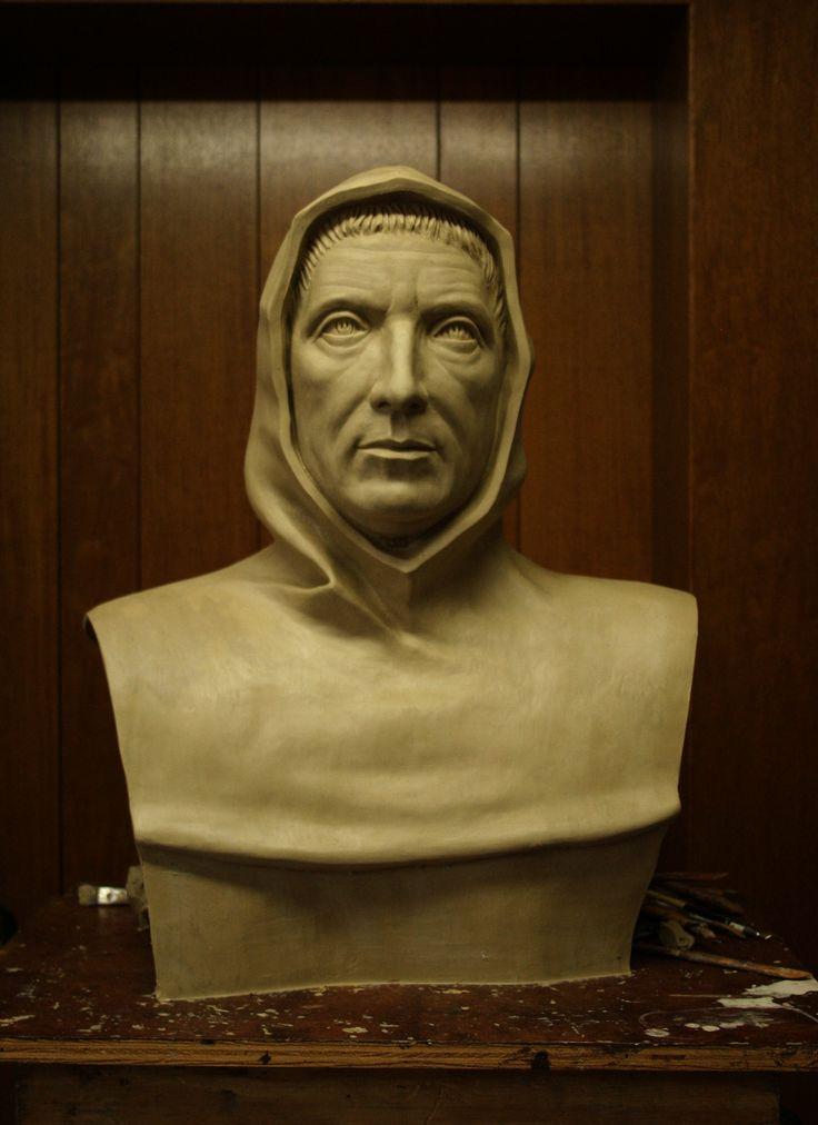 Fra Luca Pacioli- bust