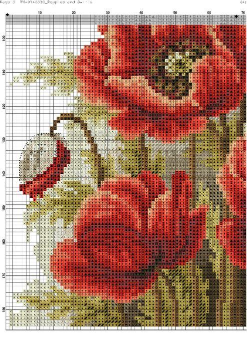 Poppies and Swirls-003 (494x700, 615Kb)
