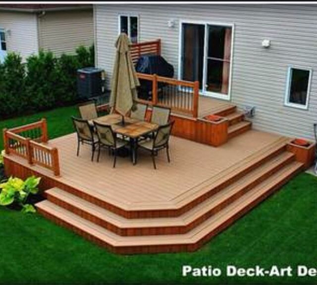 20+ Insanely Cool Multi Level Deck Ideas For Your Home