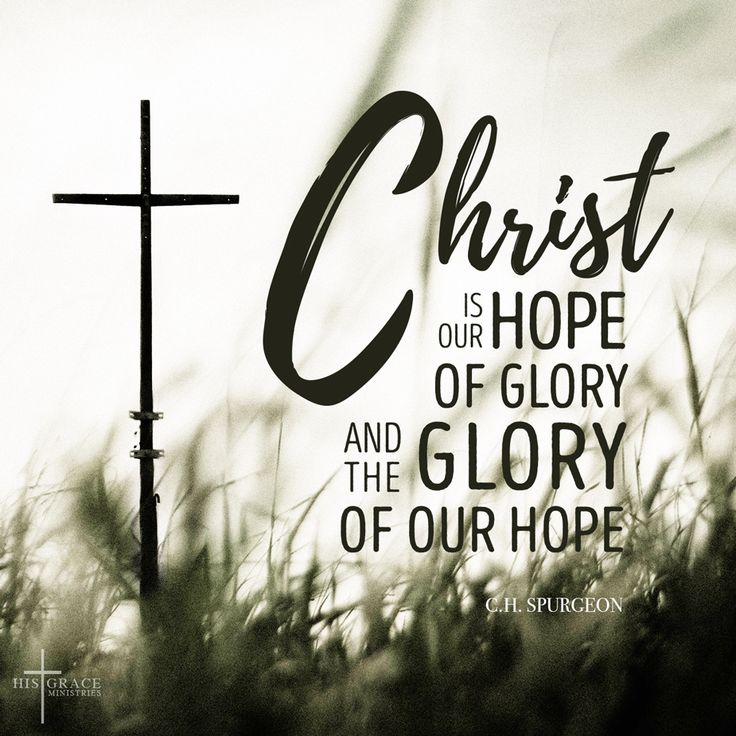 Christ is the one true hope that never fails. If you think you are almost at the end of the rope, remember the verse of Hebrew 12:2, looking to Jesus, the founder and perfecter of our faith, who for the joy that was set before him endured the cross, despising the shame, and is seated at the right hand of the throne of God. #encouragement #hopeofglory #gloryofhope #Christ