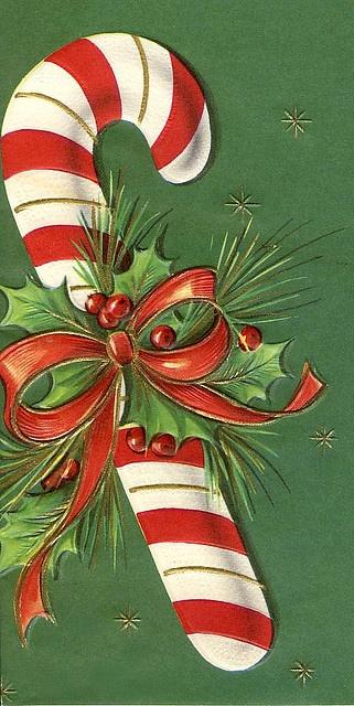 -candycane Christmas.