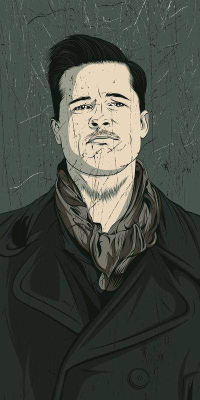 Awesome vector portraits by Alejandro Garcia