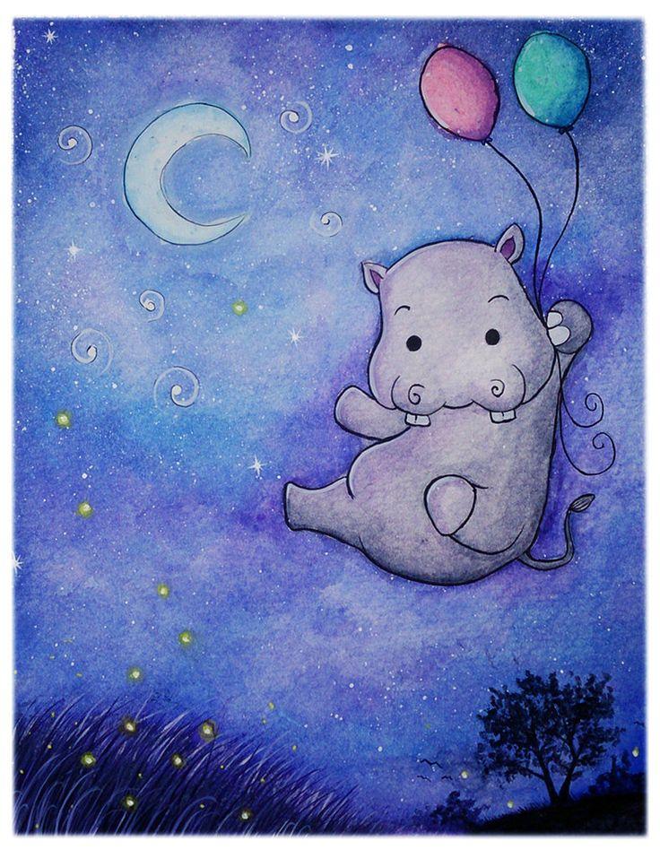 Goodbye Hippo by kurawr on DeviantArt – Brooke Murray