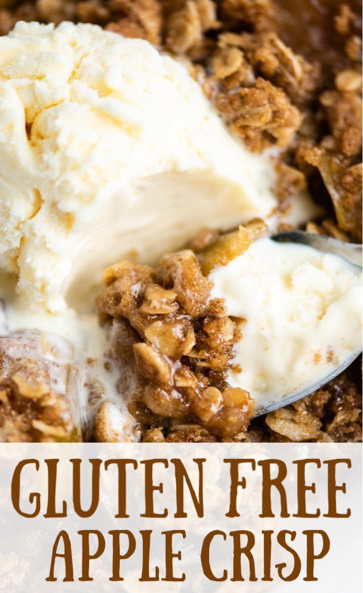 Gluten Free Apple Crisp Recipe For Fall Gluten Free Apple Crisp