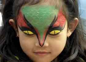 Printable Face Painting Cheek Art   Our Team Of Face And Body Painting Offers Cheek Art Full Faces Arms