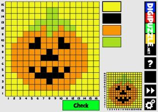 Halloween Mozaics 16x16