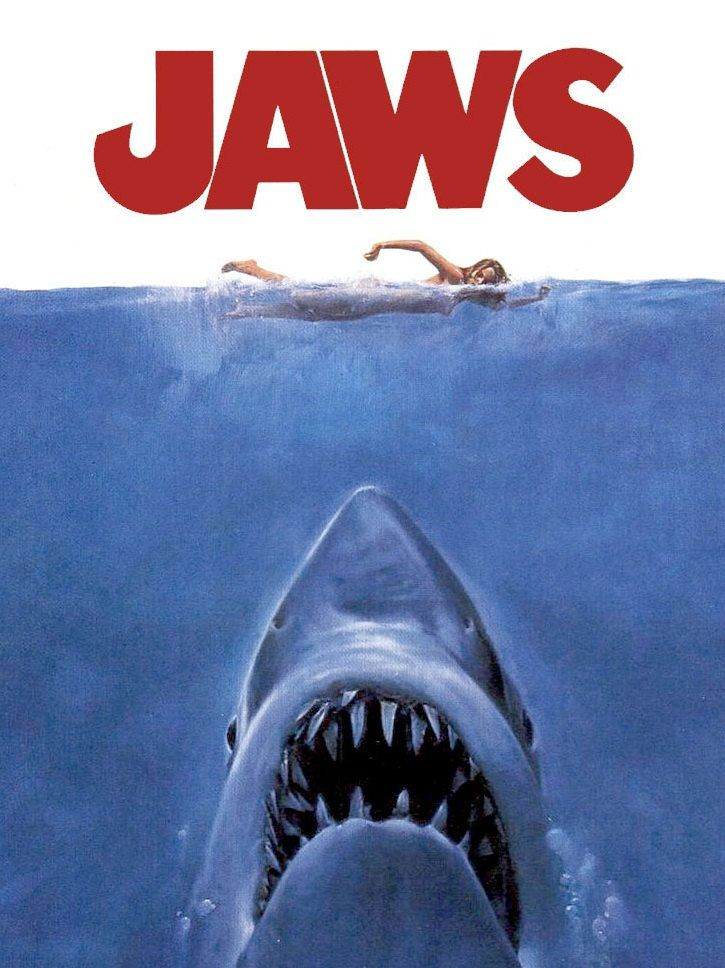 Jaws movie, Jaws film, shark pattern, shark- cross stitch, animal cross stitch, pattern cross stitch, classic pattern,- DIGITAL DOWNLOAD - pinned by pin4etsy.com