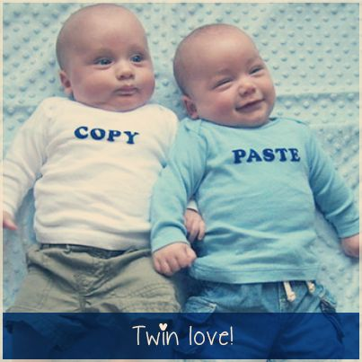 Double fun, twins are always more fun, the more the merrier #babyfun #twins
