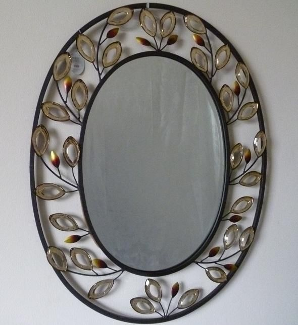 17 beste afbeeldingen over spiegels op pinterest franse dressing spiegel spiegel en cherub - Metalen spiegel ...