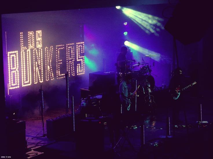 Los Bunkers @ Casa del Deportista, Iquique - Chile (2012.04.12)