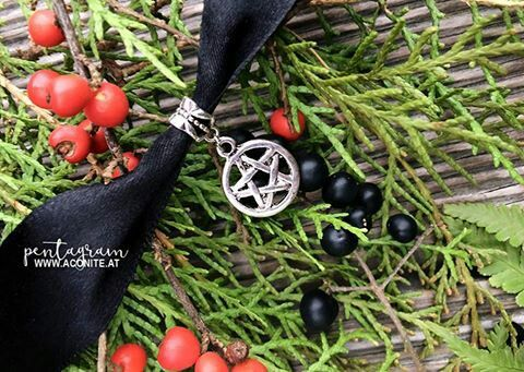 pentagram necklace available at www.aconite.at