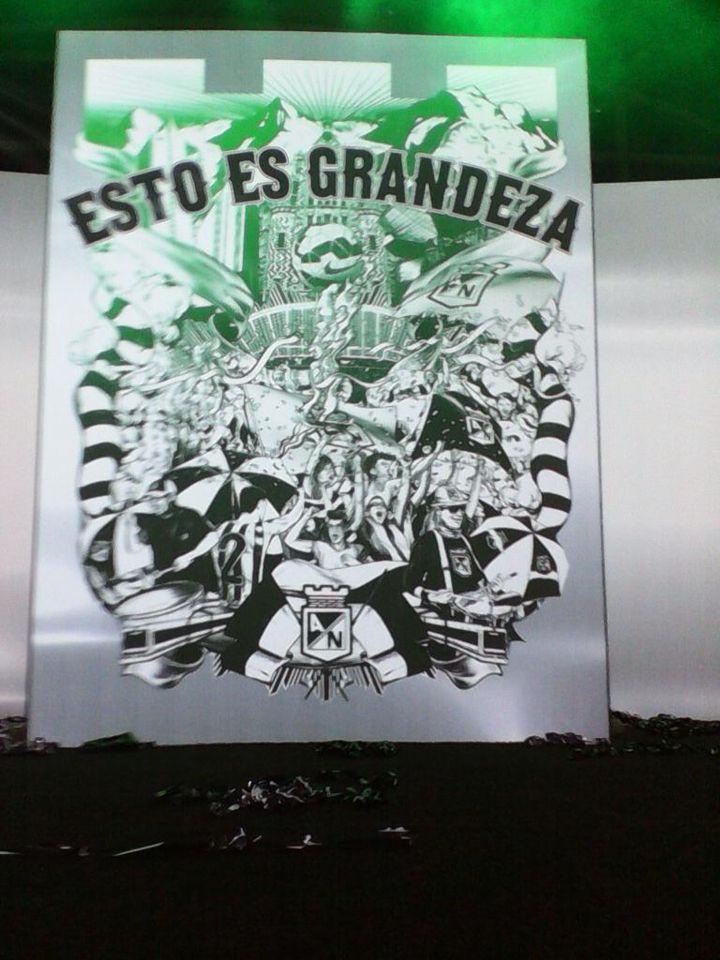 Atletico Nacional, Esto es Grandeza!
