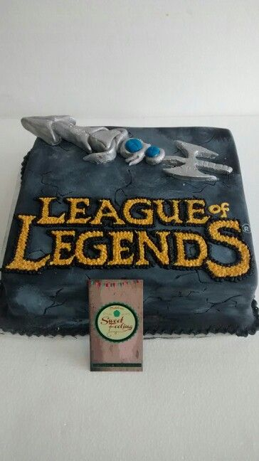 Tortas temáticas !!! League of Legends