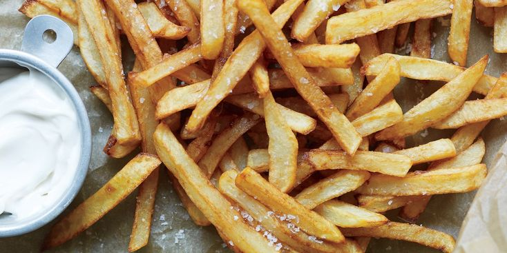 These baked potato sticks are a great substitute when you want the flavor of fries without the deep-fry effect on your health.