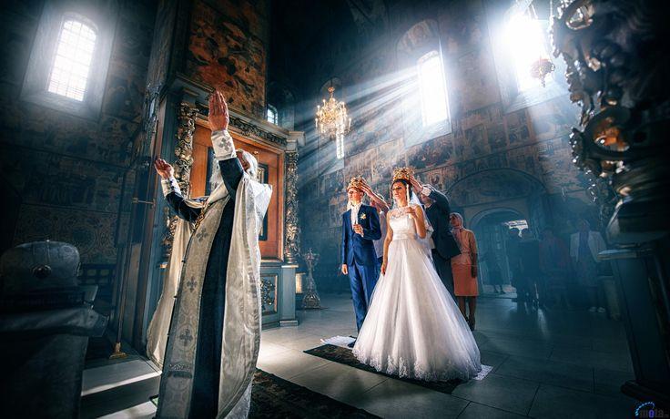 Обои для рабочего стола Венчание в храме