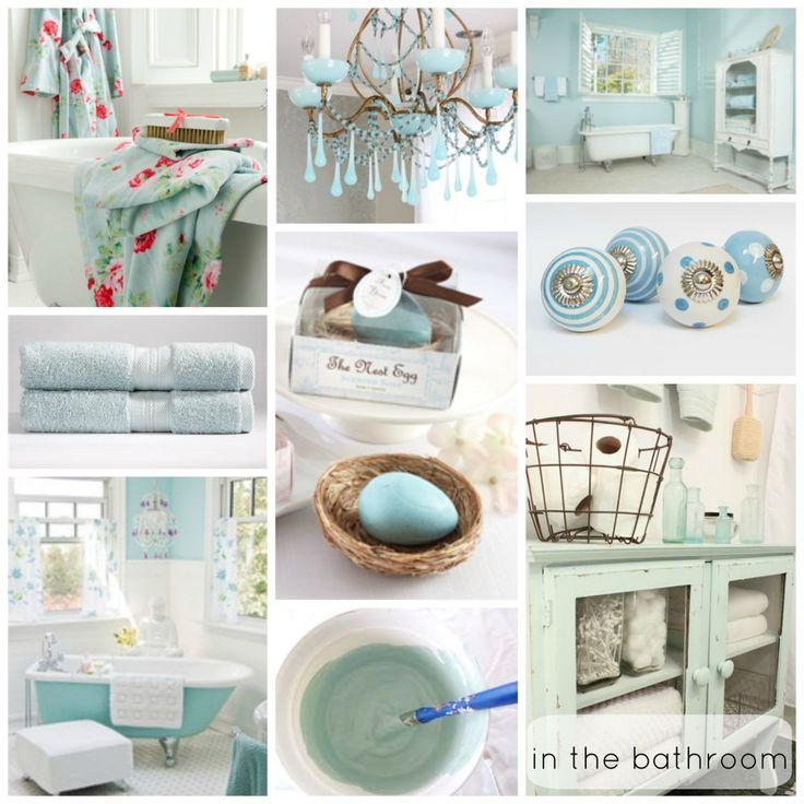 From blog going ducking bonkers for duck egg blue for Duck egg blue bathroom ideas