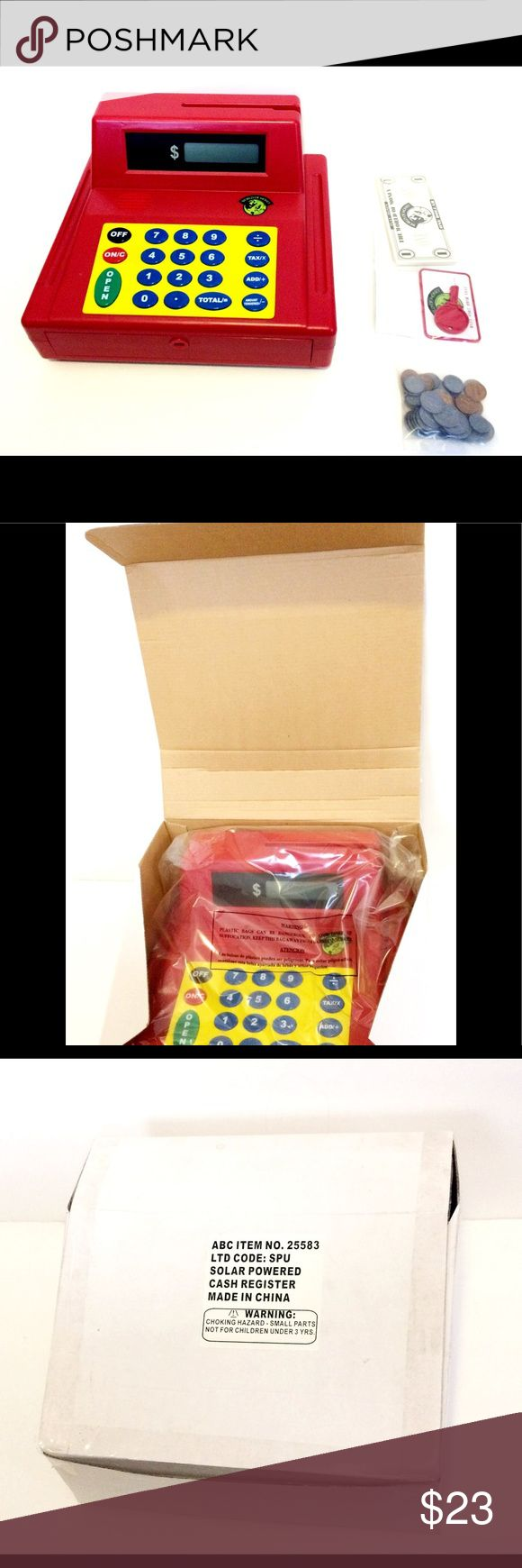 Calculator Learning Play Solar Power Cash Register Calculator Learning Play Solar Power Cash Register Other