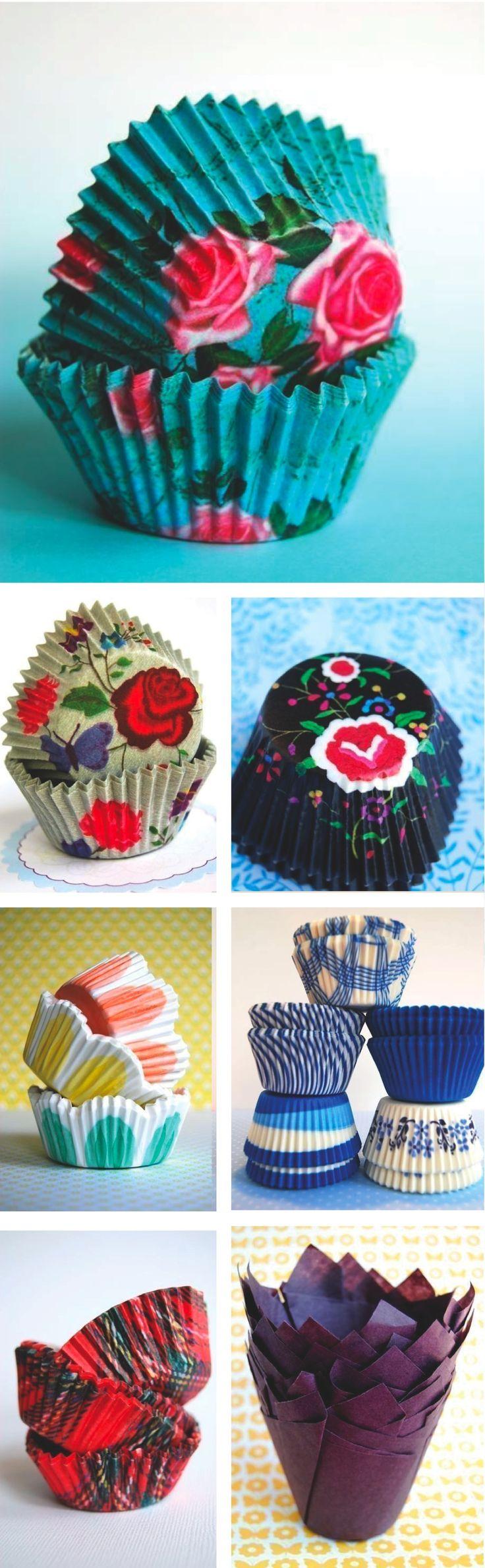 Beautiful cupcake holders