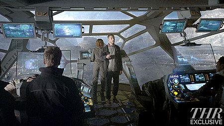 Prometheus Concept Art Photos - Ridley Scott offers new insight into one of the monsters in this upcoming sci-fi adventure, along with three new movie photos.