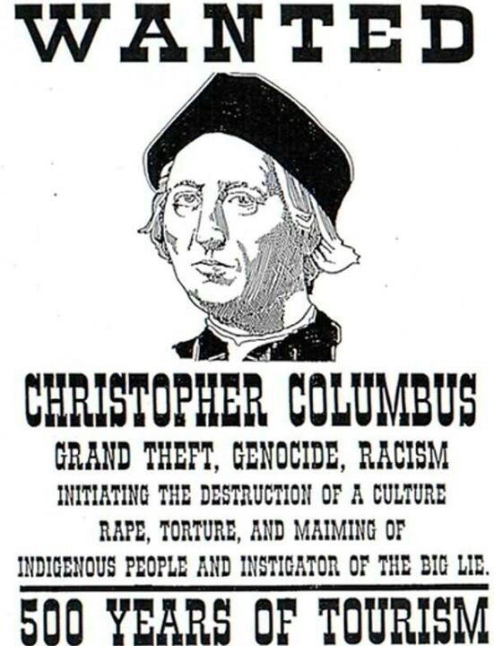 the truth about christopher columbus On the second monday of october each year, native americans cringe at the thought of honoring christopher columbus, a man who committed atrocities against indigenous peoples.