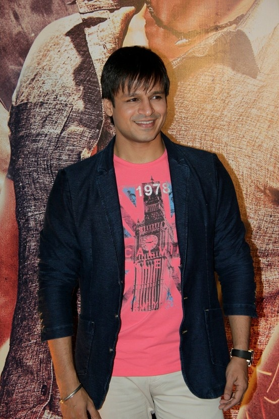 "Vivek Oberoi at ""ZILLA GAZIABAAD"" Movie Premiere."