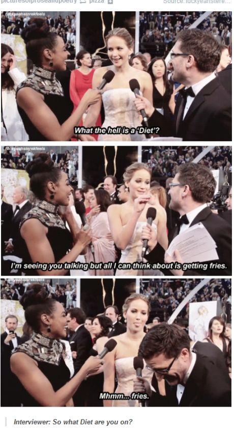 Jennifer Lawrence is hilarious!