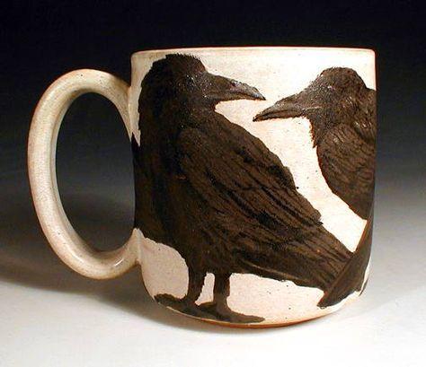 Love this Crow Mug.....by __________???