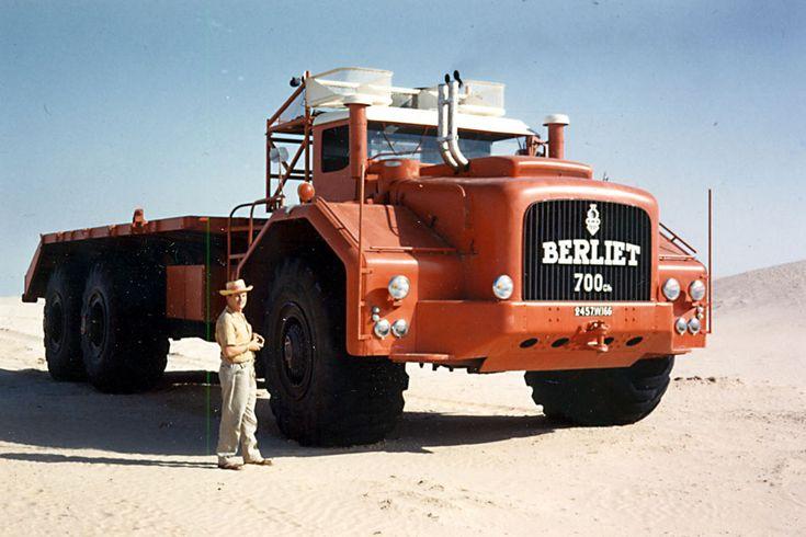 Berliet - T100 1 - Fundación berliet