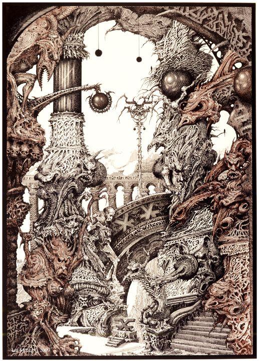 Ian Miller. Chaos Temple.