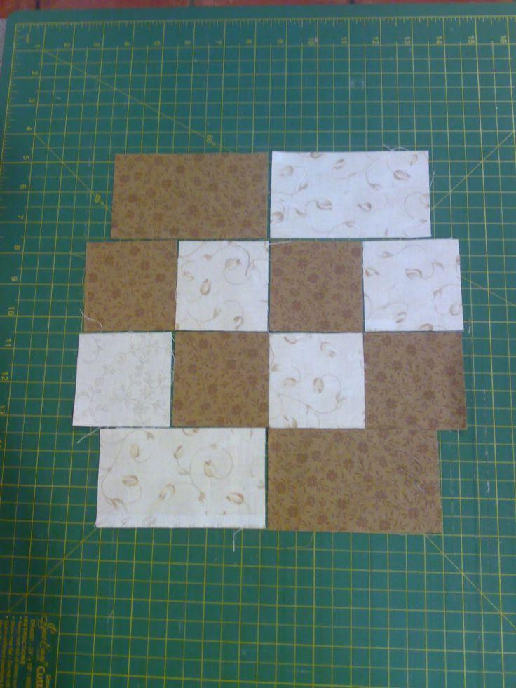 513 best 4 & 9 Patch Quilt Block Patterns images on Pinterest ... : 4 quilt block patterns - Adamdwight.com