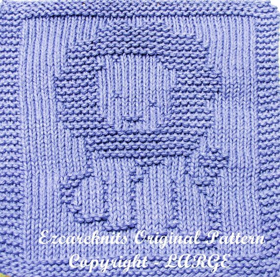 17 Best Images About Baby Washcloth Knitting Patterns On
