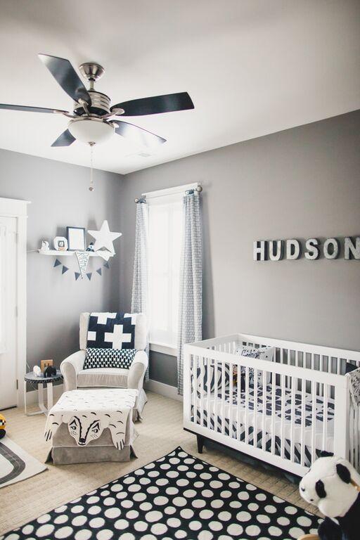 Nice And Simple Nursery Decor Baby Nursery Room Inspiration