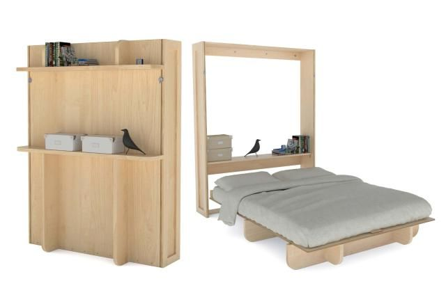 13 DIY Murphy Bed Projects For Every Budget: Build This Murphy Bed for Cheap