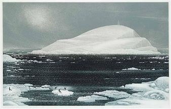 Wesleyville, March Ice Raft By David Blackwood ,1981