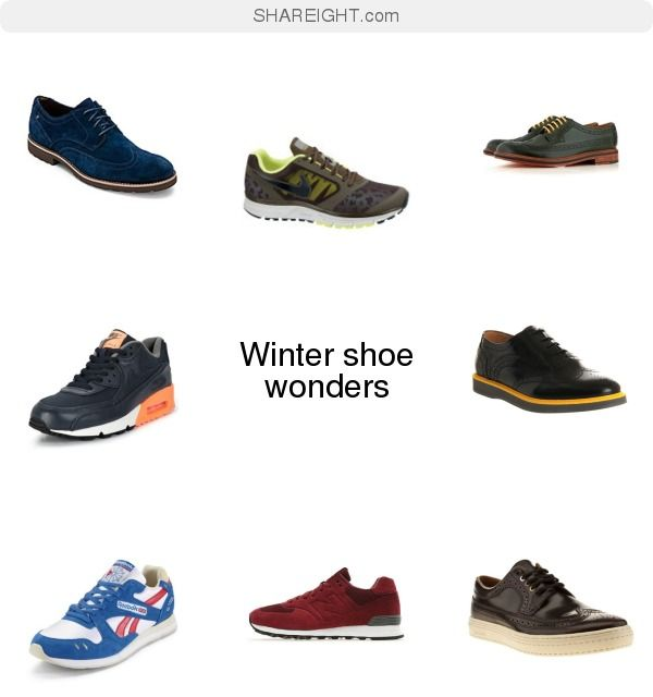Winter shoe wonders