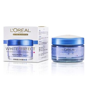 L'Oreal Zklidňující noční krém Dermo-Expertise White Perfect Soothing Cream Night 50 ml
