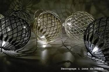 decoupage i inne dziwadła ...: Szydełkowe cotton balls