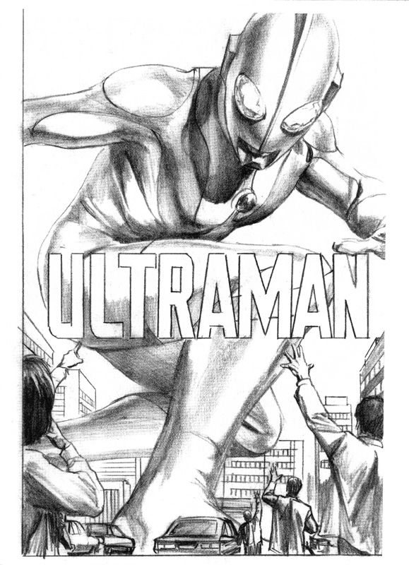 Alex Ross art from the 2007 San Diego Comic-con sketchbook