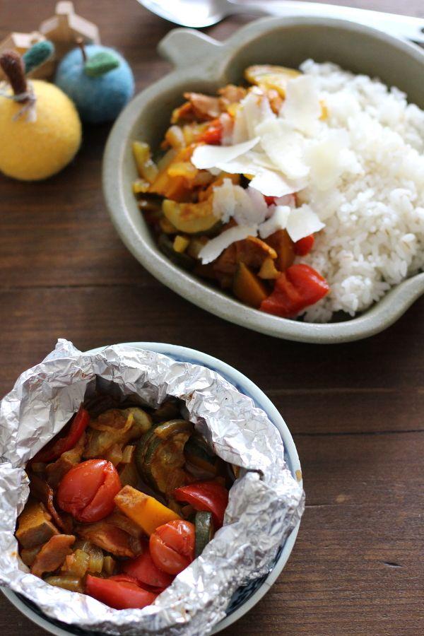 夏野菜のホイル焼きカレー。 by 小澤 朋子 | レシピサイト「Nadia ...