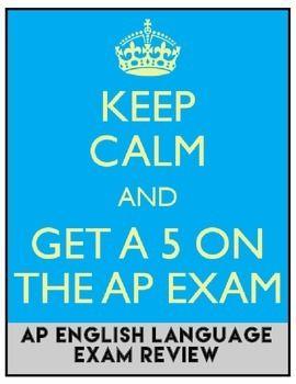 AP English Language and Composition Exam Review: NO PREP  #APEnglishtestprep