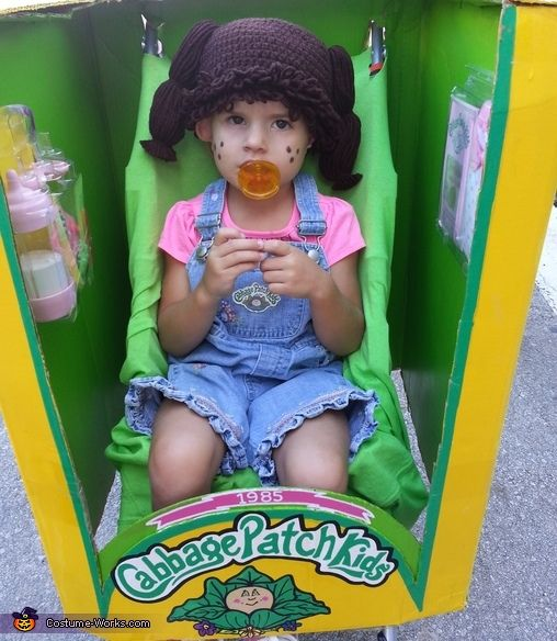 Cabbage Patch Kid Costume Homemade