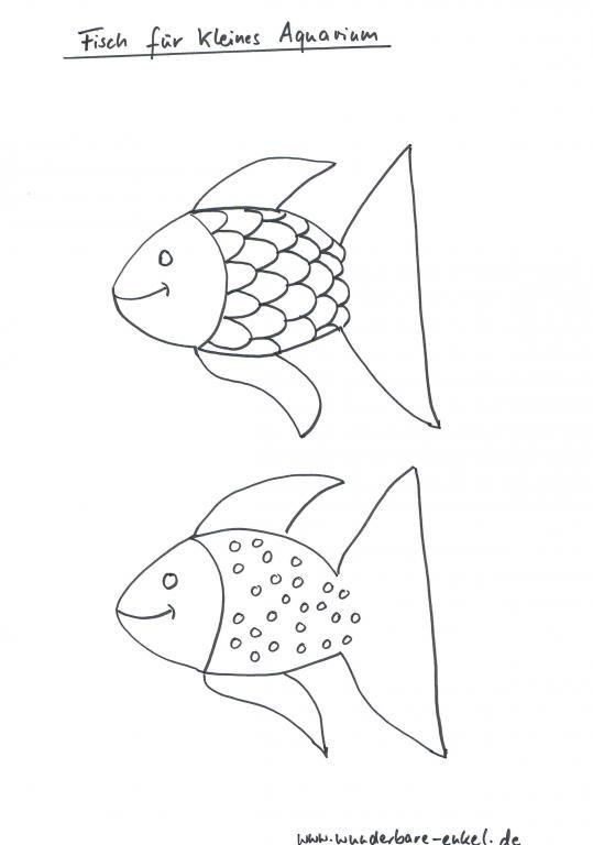 Malvorlage Fisch Kostenlos