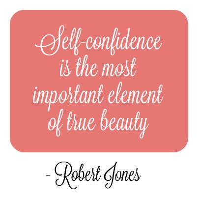 self confidence is the most important for Being healthy revealed by philips' global beauty index as the most important attribute for women's self-confidence.