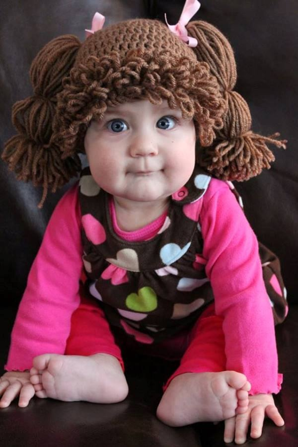 Cabbage Patch kid.