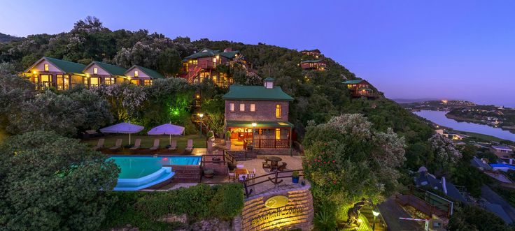 Panoramic  view of The Boardwalk Lodge, Wilderness, Garden Route, South Africa www.boardwalklodge.co.za