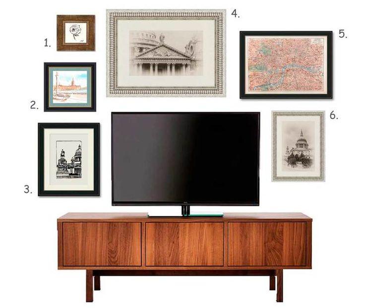 Как оформить стену вокруг телевизора: 5 дизайн-решений - Дизайн интерьера - Babyblog.ru