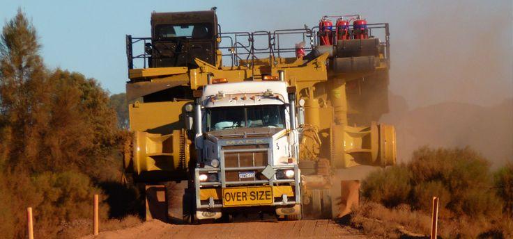 Heavy Haulage Australia.