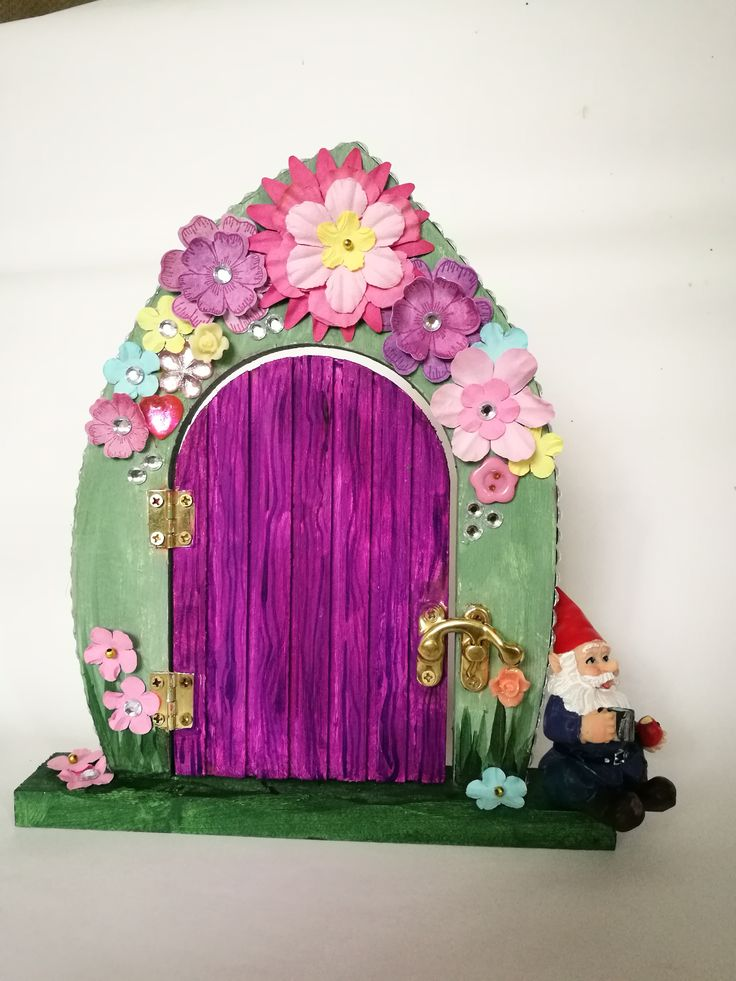 How to decorate fairy doors everyone loves fairies and for The works fairy door