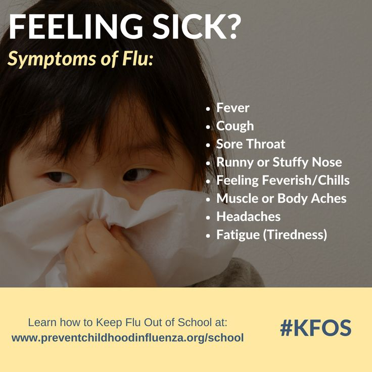 Learn the #symptoms of #flu and more about how to prevent flu from spreading to you and your family by visiting http://www.preventchildhoodinfluenza.org/school #influenza #KFOS #vaccine